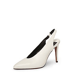 Dorothy Perkins - White 'Georgina' court shoes