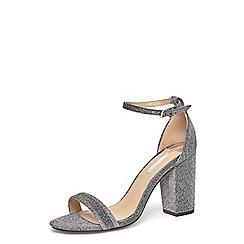 Dorothy Perkins - Silver 'bailey' heeled sandals
