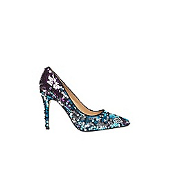 Dorothy Perkins - Multi 'Galaxy' sequin court shoes