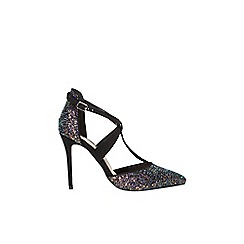 Dorothy Perkins - Multi coloured glitter 'Gloria' court shoes