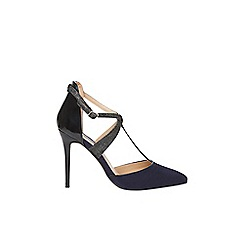 Dorothy Perkins - Navy 'Gloria' t-bar court shoes
