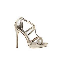Dorothy Perkins - Gold 'beverly' t-bar sandals