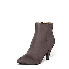 Dorothy Perkins - Grey 'ada' vintage heeled ankle boots