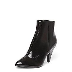 Dorothy Perkins - Black 'ada' vintage heeled ankle boots