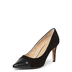 Dorothy Perkins - **Lily & Franc black 'jasmine' court shoes