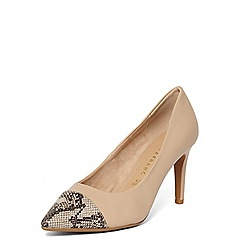 Dorothy Perkins - **Lily & Franc cream 'jasmine' court shoes
