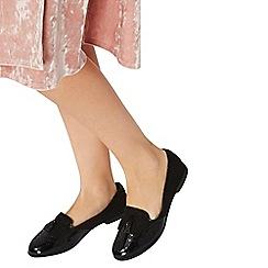 Dorothy Perkins - Black 'libby' brogue loafers