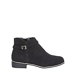 Dorothy Perkins - Black 'mercine' ankle boots
