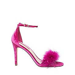 Dorothy Perkins - Pink 'Strut' heeled sandals