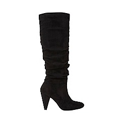 Dorothy Perkins - Black 'keela' ruched boots