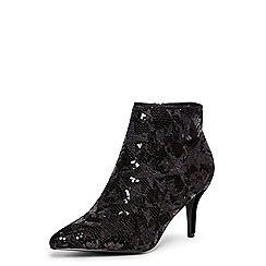 Dorothy Perkins - Black 'aruba' heeled ankle boots