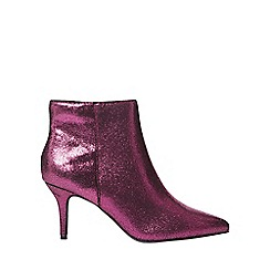 Dorothy Perkins - Pink 'aruba' heeled ankle boots