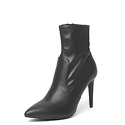 Dorothy Perkins - Black 'Ally' sock boots