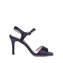 Dorothy Perkins - **showcase navy 'Senorita' satin sandals
