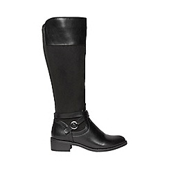 Dorothy Perkins - Black Kayla riding boots