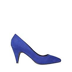 Dorothy Perkins - Cobalt 'diana' almond toe court shoes