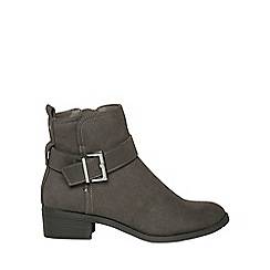 Dorothy Perkins - Grey 'mina' ankle boots