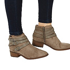 Dorothy Perkins - Taupe 'avalon' ankle boots