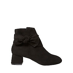 Dorothy Perkins - Black 'alba' ankle boots