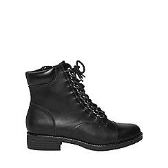 Dorothy Perkins - Black 'arlo' biker boots