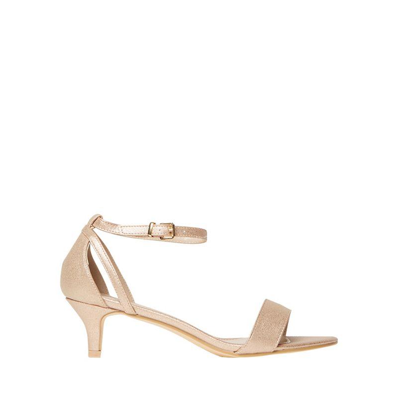 Dorothy Perkins - Gold Sunrise Heeled Sandals