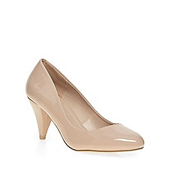 Dorothy Perkins - Nude 'cava' mid courts