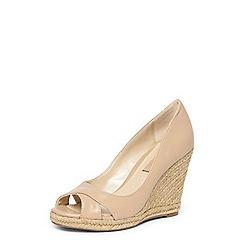 Dorothy Perkins - Blush 'callie' peep toe wedges