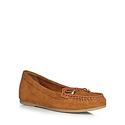 Dorothy Perkins - Tan leather 'loretta' loafers