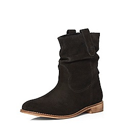 Dorothy Perkins - Black 'nena' leather boots