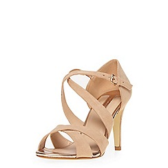 Dorothy Perkins - Nude 'becca' heeled sandals