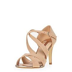 Dorothy Perkins - Nude 'becca' heeled sandals