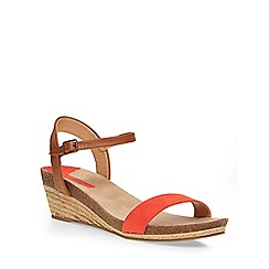 Dorothy Perkins - Orange 'vesta' low wedges