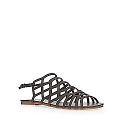 Dorothy Perkins - Black 'sasperilla' sandal