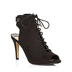 Dorothy Perkins - Black 'lance' lace up boots