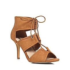 Dorothy Perkins - Tan 'shona' ghillie sandals