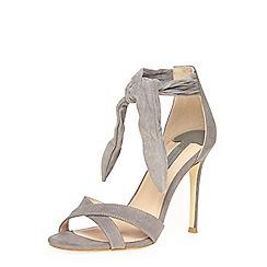Dorothy Perkins - Grey 'sound' ankle tie sandals