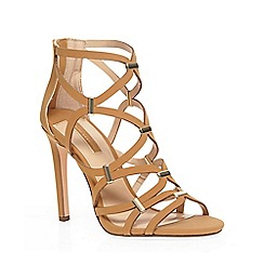 Dorothy Perkins - Tan 'safari' caged sandal
