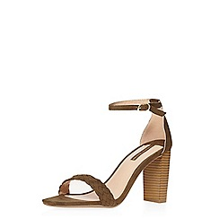 Dorothy Perkins - Kha suede vamp sandals