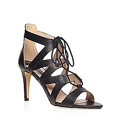 Dorothy Perkins - Black 'sunrise' lace up sandals