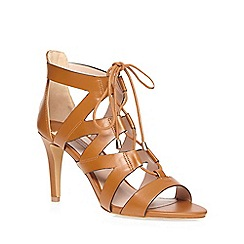 Dorothy Perkins - Tan sunrise lace up sandals
