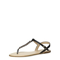 Dorothy Perkins - Black t-bar sandals