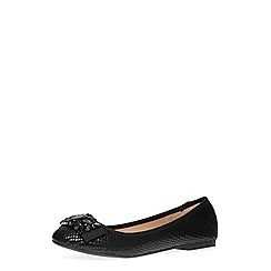Dorothy Perkins - Black snake embellished pumps