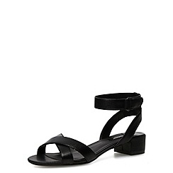 Dorothy Perkins - Black block heel sandals