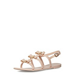 Dorothy Perkins - Nude jelly T-bar sandals