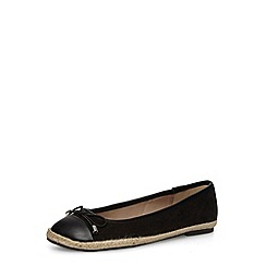 Dorothy Perkins - Black espadrile pumps