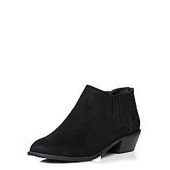 Dorothy Perkins - Black 'marley' gusset boots