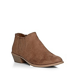 Dorothy Perkins - Stone 'marley' gusset boots