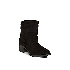 Dorothy Perkins - Black ava slouch boot