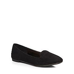 Dorothy Perkins - Black 'pacca' slipper pumps