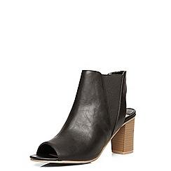 Dorothy Perkins - Black 'selina' elastic sandals